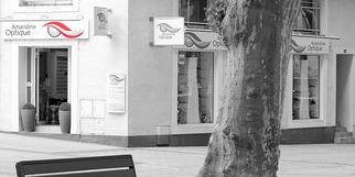 Amandine Optique à Gignac est un opticien en centre-ville qui vend des lunettes, des montures, des solaires et des lentilles.(® SAAM fabrice CHORT)