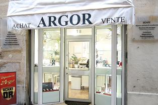 Argor Montpellier pour l'achat d'or et vente d'or et bijouterie (® SAAM-fabrice Chort)