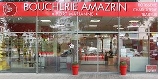 Boucherie Amazrin Montpellier vous reçoit à Port Marianne avec ses viandes halal sélectionnées, ses plats cuisinés et à emporter (® SAAM-F. Chort)