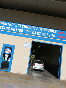 Contrôle technique auto Mauguio MCTA34 Etang de l'Or à la ZAC La Louvade réalise le contrôle technique moins cher avec le rendez-vous en ligne. (® SAAM-Fabrice Chort)