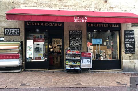 Emprin électroménager Montpellier vend de l'électroménager et des ustensiles de cuisine en centre-ville. (® L'indispensable du centre-ville Montpellier)