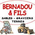 Entreprise BERNADOU et Fils Gignac produit et vend des sables, de la terre, des graviers et autres pour les particuliers et professionnels.