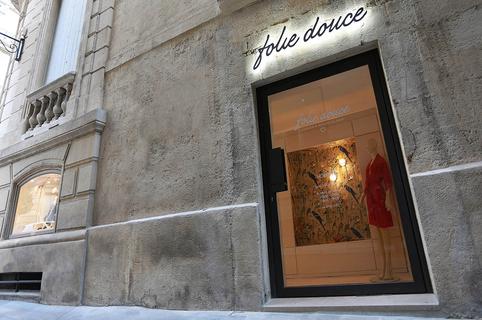 Folie Douce Montpellier Lingerie et maillots de bain au centre-ville (® SAAM - Fabrice Chort)