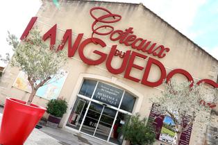 Maison des Vins du Languedoc à Lattes propose une boutique de vins, une école de vins, un restaurant et des salles à louer au Mas de Saporta.(® SAAM fabrice Chort)