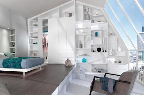 Quadro Montpellier est spécialisé dans l'aménagement intérieur sur mesure: dressings, placards, bibliothèques...(® quadro)