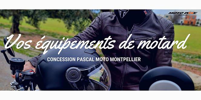 Accessoires moto chez Pascal Moto Montpellier