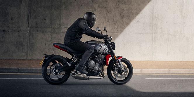 Pascal Moto Montpellier vend la nouvelle Triumph Trident (® site pascal moto)