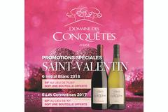 Offre St Valentin au Domaine des Conquêtes d'Aniane