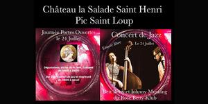 Le Château la Salade Saint Henri vous convie à sa journée portes ouvertes le 24 juillet