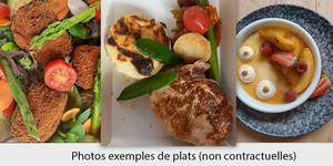 Le restaurant Les Gourmands à Montpellier propose un menu différent par semaine à emporter.