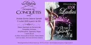 Samedi 11 Juillet | Grande Soirée Cabaret au Domaine des Conquêtes