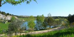 Le site du Lac du Cres