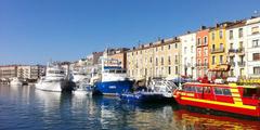 Sète un port de pêche en Méditerranée (crédits photos: OT Sète - C Beaujard)