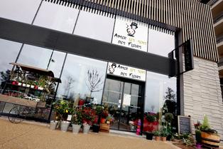 Aimer les sens des Fleurs Montpellier Fleuriste à Port Marianne (® SAAM-fabrice Chort)