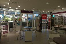 Vue boutique de l'opticien Afflelou au centre commercial le Triangle de Montpellier (credits photos : Afflelou Triangle)