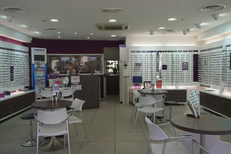 Vue boutique de l'opticien Afflelou au centre commercial le Triangle de Montpellier (credits photos : Afflelou Triangle)