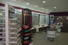 Vue boutique de l'opticien Afflelou au centre commercial le Triangle de Montpellier (credits photos : Afflelou)