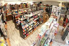 Allée de la Mercerie Montpellier vend des articles de couture, de mercerie, de tricot dans le quartier Près d'Arènes (® NetWorld-Fabrice Chort)