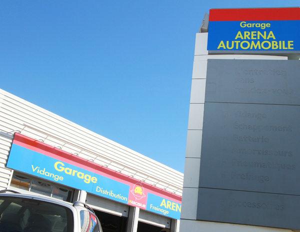 Arena auto p rols garage et vente auto montpellier - Grand garage de l herault peugeot montpellier ...