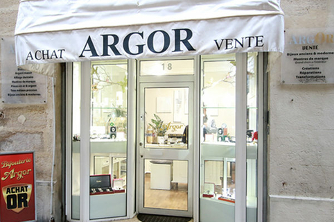 Argor Montpellier pour l'achat d'or et bijouterie (® networld-fabrice Chort)