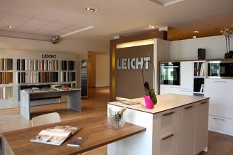Atelier C Clapiers Cuisine haut de gamme allemande Leicht dans le showroom aux portes de Montpellier.(® Atelier C)
