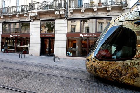 Opticien Montpellier L' Atelier des Sens Opticien et Audition en centre-ville sur Jeu de Paume (® SAAM-fabrice Chort)