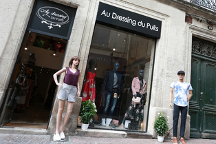 Au Dressing du Puits Montpellier est une boutique de mode pour hommes et femmes en centre-ville dans le quartier Saint Roch.(® SAAM-fabrice CHort)