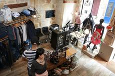 Au Dressing du Puits Montpellier Boutique de vêtements en centre-ville dans le quartier Saint Roch (® SAAM-fabrice Chort)