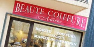 Beauté Coiffure Maria Lunel au centre-ville (® NetWorld-Fabrice Chort)