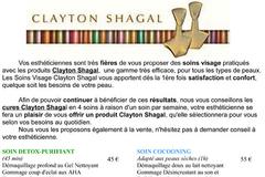 Beauty'full Saint Gély du Fesc vous offre un produit Clayton Shagal pour l'achat d'une cure Clayton Shagal de 4 soins à raison d'un soin par semaine.