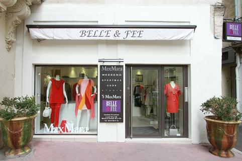 Belle et Fée Max Mara Montpellier vend des vêtements femme proche de la Rue Foch au centre-ville  (credits photos: NetWorld-Fabrice Chort)