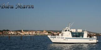 Bleu Marin Bouzigues Promenade en bateau dans les parcs à huitres de l'Etang de Thau (® bleu marin)