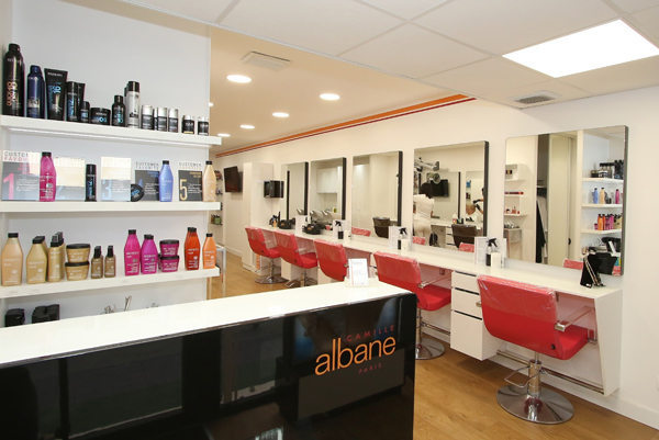 Camille albane montpellier coiffure femme ou mixte for Salon de coiffure camille albane