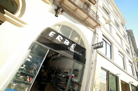 Chaussures Erbé Montpellier vend des chaussures femmes et hommes de marque en centre-ville  (® SAAM-fabrice Chort)
