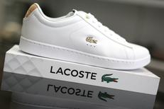 Erbé Chausseur Montpellier vend des chaussures de marque en centre-ville ici des baskets Lacoste  (® SAAM-fabrice Chort)