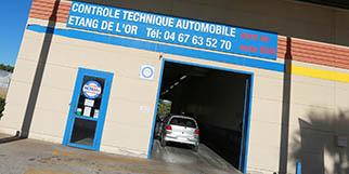 Contrôle technique auto Mauguio MCTA34 Etang de l'Or à la ZAC La Louvade réalise le contrôle technique moins cher avec le rendez-vous en ligne. (® networld-Fabrice Chort)