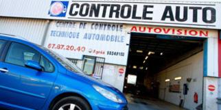 Contrôle technique Le Crès Autovision sur la route de Nîmes (® networld Fabrice Chort)