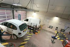 Contrôle technique Montpellier Autovision du Parc Euromédecine Montpellier Nord et ses nombreux postes de contrôle (® networld-Fabrice Chort)