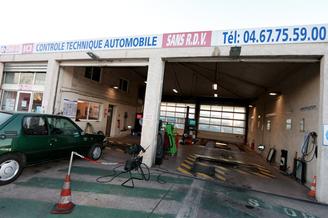 Contrôle technique Montpellier nord Euromédecine Autovision propose le contrôle technique moins cher avec des rendez-vous en ligne et des promos ou bien sans rendez-vous. (® networld-Fabrice Chort)