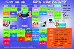 Côté Fitness Montpellier   Planning des cours 2018-2019