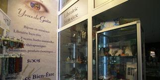Dans les Yeux de Gaïa Montpellier propose de nombreuses idées cadeaux autour de l'ésotérisme, des bijoux et du bien être (® networld-fabrice Chort)