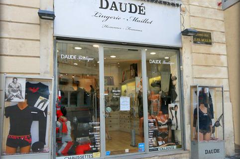 Lingerie Daudé Montpellier au coeur de la Grand Rue au centre-ville (® networld-Fabrice Chort)