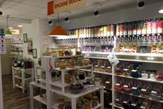 Day by Day Montpellier Epicerie en vrac en centre-ville vend des articles du quotidien en limitant les emballages inutiles, ici des produits sucrés (® day by day)