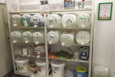 Day by Day Montpellier Epicerie en vrac en centre-ville vend des des produits ménagers écologiques en vrac pour limiter les emballages inutiles (® day by day)