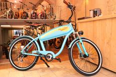 EBIKEPREMIUM Montpellier vend des vélos électriques à Montpellier ici le modèle OldTimer (® ebikepremium)