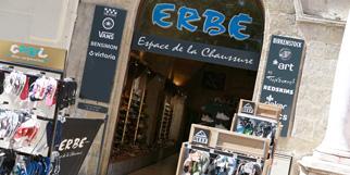 Erbé Montpellier chaussures pour hommes, femmes et enfants en centre-ville (® SAAM-fabrice Chort)