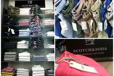 Escassut Montpellier Mode Homme vend des vêtements Homme de la marque Scotch and Soda en centre-ville (® escassut-Sophie Sobieraj)