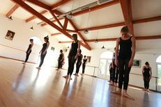 Espace Danse Cavier Lunel et l'une de ses Chorégraphies au conservatoire (® networld-Fabrice Chort)