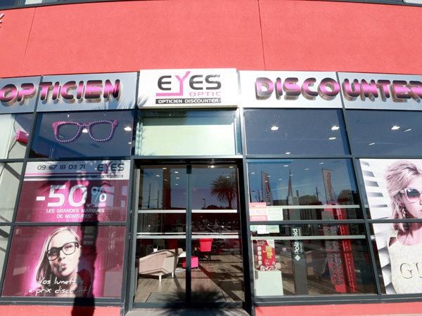 a9f6e8ece08225 Eyes Optic Castelnau le Lez opticien discounter vend des montures, des  solaires, des lentilles