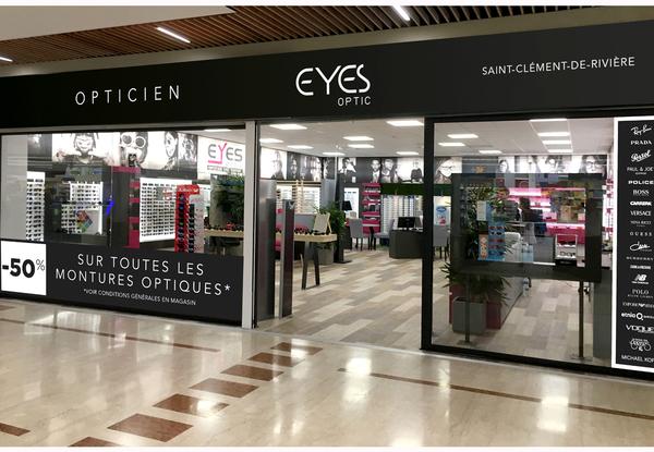 ffb3418801c832 Eyes Optic Opticien Saint Clement de Riviere vend des lunettes à prix  discount dans la galerie
